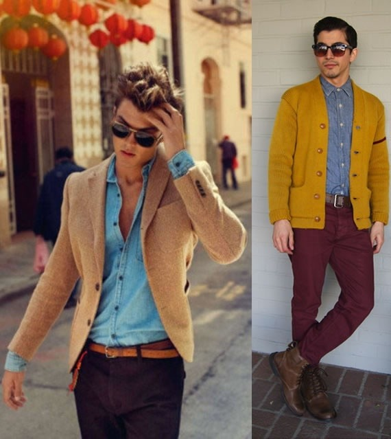 Which coloured shirt/jacket should I wear with maroon ...