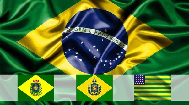 what do the colors in the brazilian flag represent quora