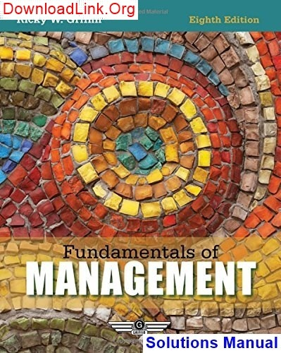 How to download Fundamentals of Management 8th Edition Ricky