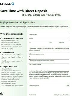 47 Direct Deposit Authorization Form Templates - Template ...