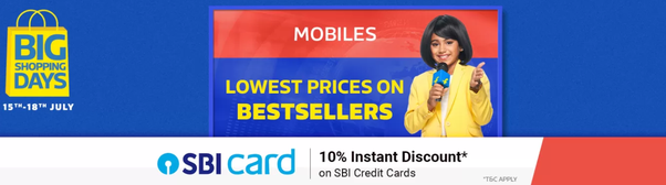 Should I buy a mobile phone from Flipkart from their Big Shopping