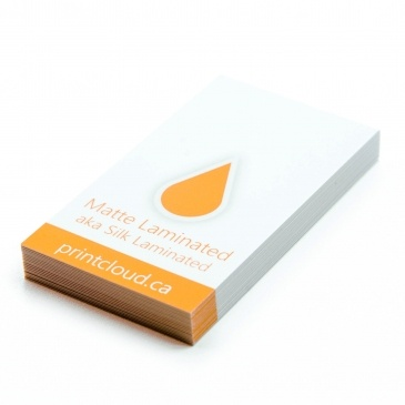 How are laminated business cards different from standard ones quora this finish is smooth to the touch and popular with designers real estate agents and those trying to portray sophistication with a modern design reheart Choice Image
