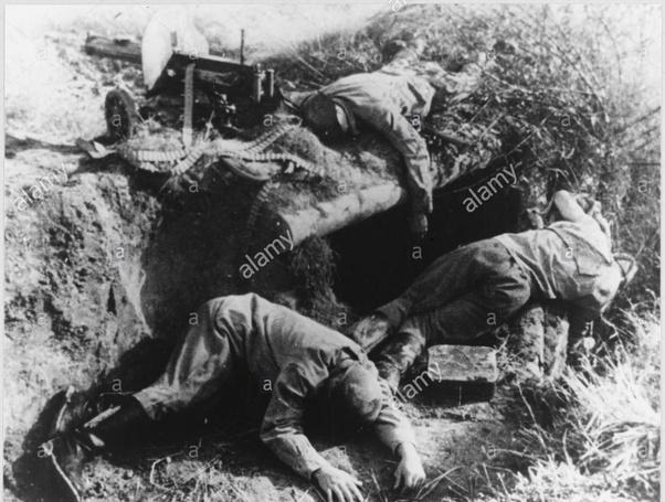 Tote Deutsche Soldaten 2. Weltkrieg