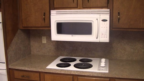 is it safe to mount a regular microwave oven over a stove quora. Black Bedroom Furniture Sets. Home Design Ideas