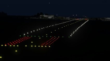 Exceptional On Some Runways The Lights Turn Yellow In The Last 2000ft Of Descent And  Then Red As The Plane Reaches The End Of The Runway. Good Looking