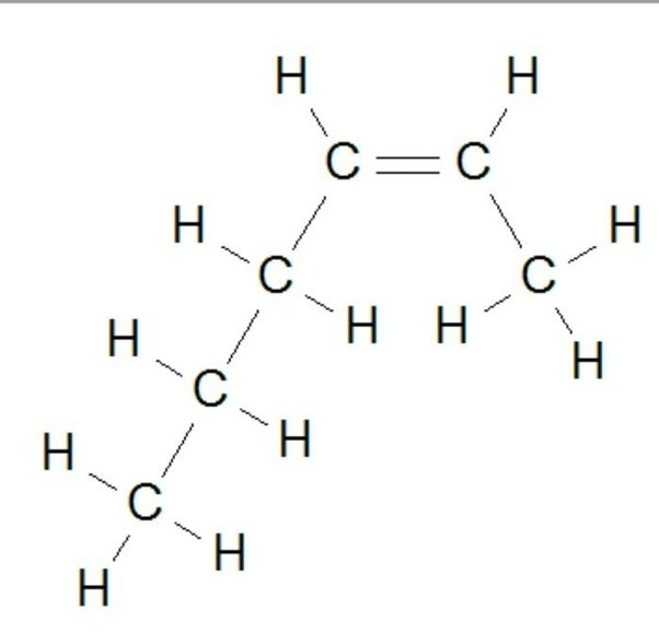 chemists often shorten that picture even further for ease of drawing but that is the gist of it