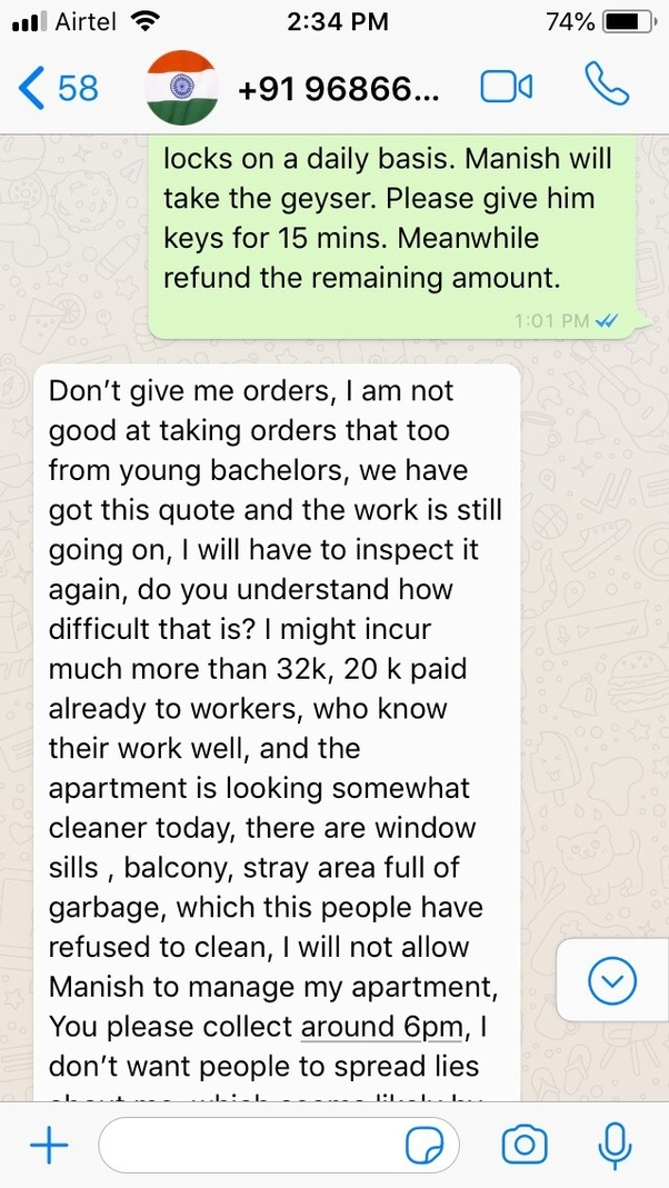 What are some bitter facts about house-owners in Bengaluru