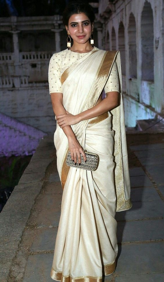 100f290a2a What can be tips for a fat girl for wearing saree  - Quora