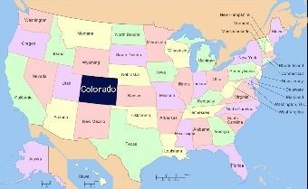 Where Is Colorado Located Quora - Where is utah