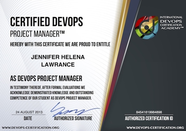 Is there any certification for DevOps? If yes,which certifications