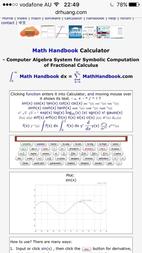 What Is A Math Handbook Calculator Quora