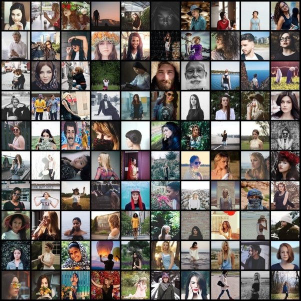 what is the the best software to make a digital collage of 100 photos of same size in a grid quora