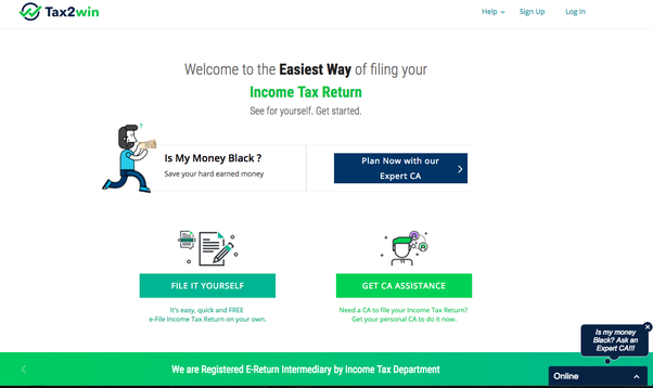 How to file income tax return independently quora it looks like this just click on file it yourself and you can finish the itr in few minutes without any hassle solutioingenieria Image collections