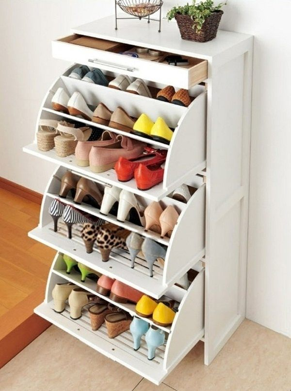 When In Doubt, You Can Always Opt For A Classic Shoe Storage Idea: A Shoe  Storage Bench! I Love This Idea Because Itu0027s Versatile And Provides Both  Storage ...