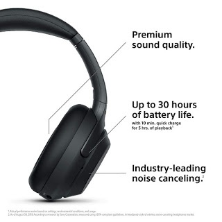 Can Sony's MDR 1000X headphones be used with the PS4 as a