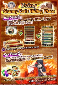 How to get granny cat coins in Naruto: Ultimate Ninja Blazing - Quora