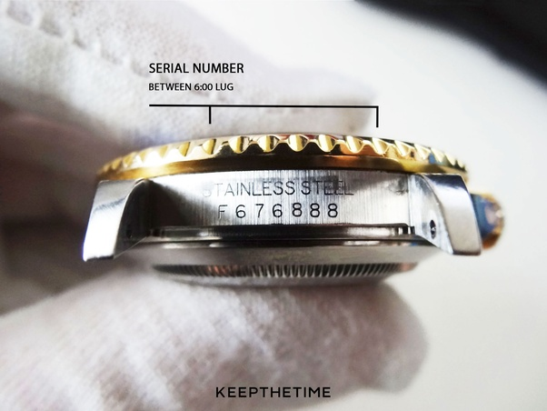How to check a Rolex serial number - Quora