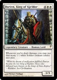 how to classify an mtg card into white black blue green red by