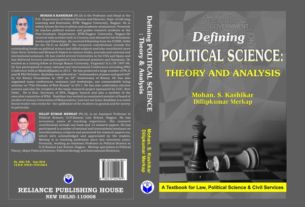 What is the best book for 2nd year BA in political science