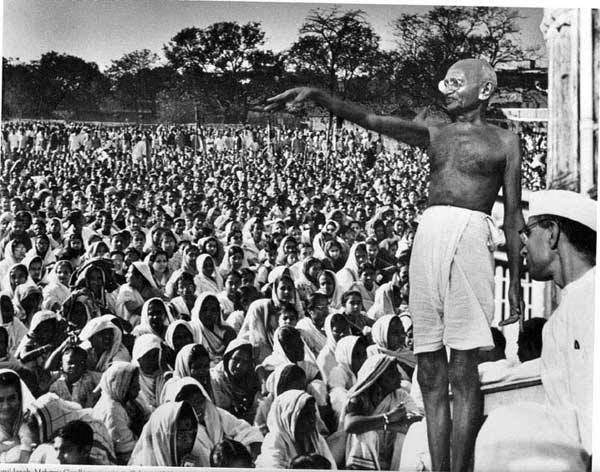 gandhi independence essay