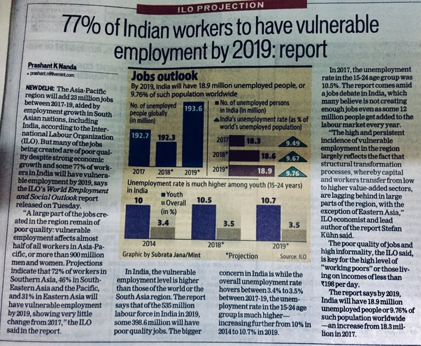 Why Are A Large Number Of Engineers Unemployed Low Paid In India
