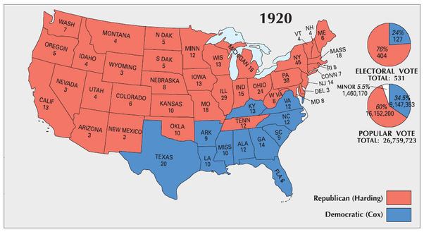 What is the largest margin of victory (popular vote) in ...