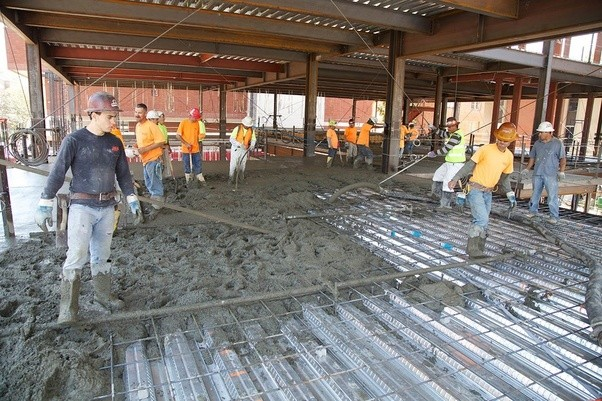 How Are Concrete Slabs Of Varying Degrees Of Thickness