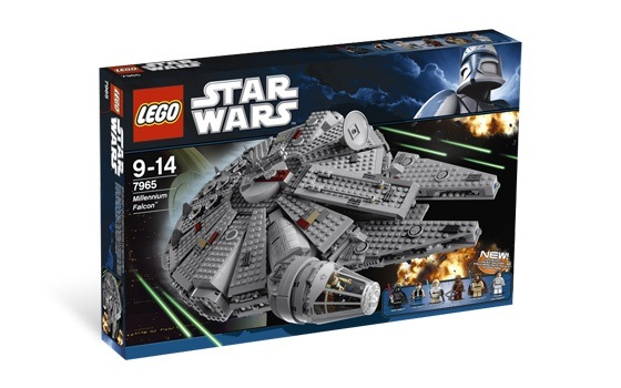 Why can't I order my missing Darth Vader (Millennium Falcon) from ...