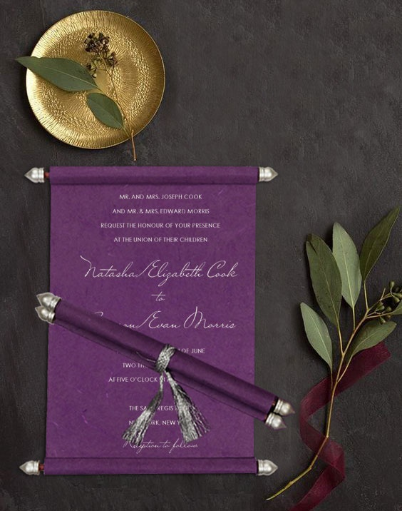 These are some wedding invitation trends which are trending in 2018 & fit to every wedding theme.