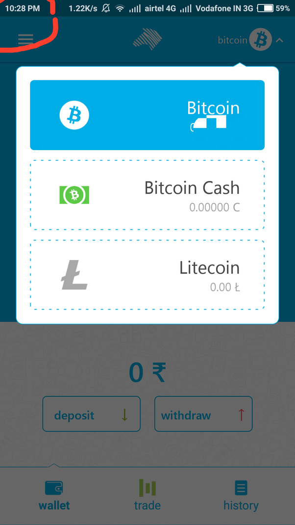 Why did zebpay remove bitcoin cash how can i get my bch back which bitcoin cash is still there my screenshot just taken after your post even they added one more altcoin name litecoin ccuart Choice Image