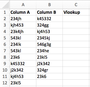 Using Excel How Do You Use V Lookup To Compare Two Worksheets And