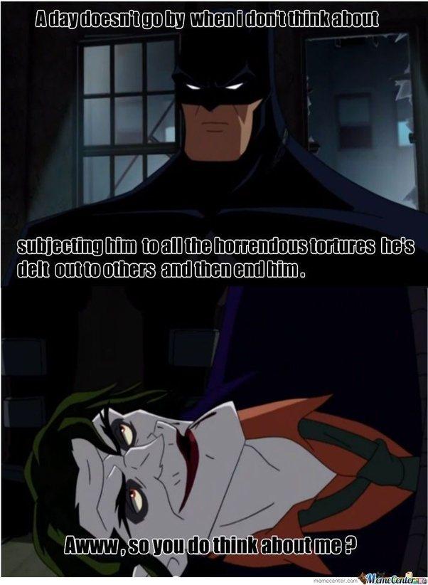 main qimg a4bb4548c5f72d192d1a9850bfe4a6e3 c what are the best batman joker memes? quora