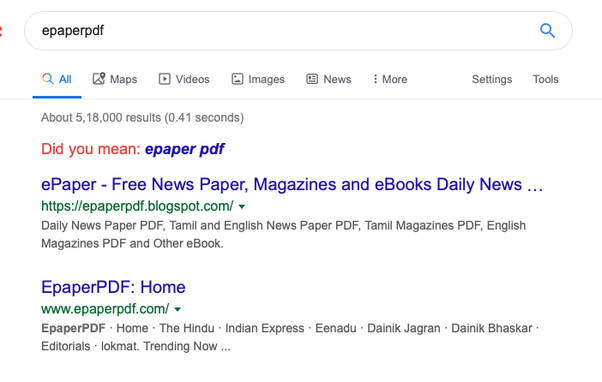 How to get daily newspaper PDF - Quora