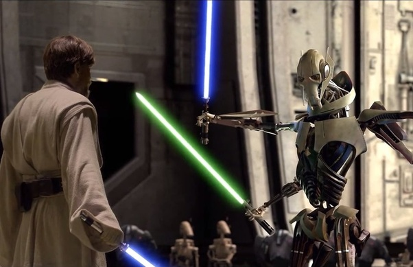 Why Does General Grievous Have Anakin S Lightsaber Quora