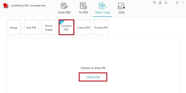How to compress a 500 kb PDF file to less than 100 kb