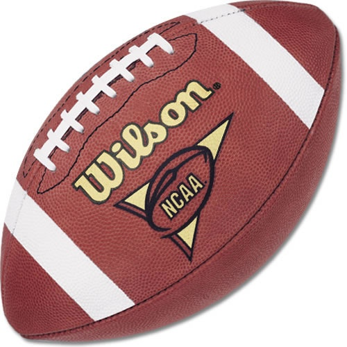 what is the difference between the football used in college football