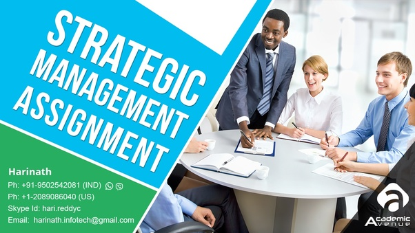 Where can I get strategic management assignment help? - Quora