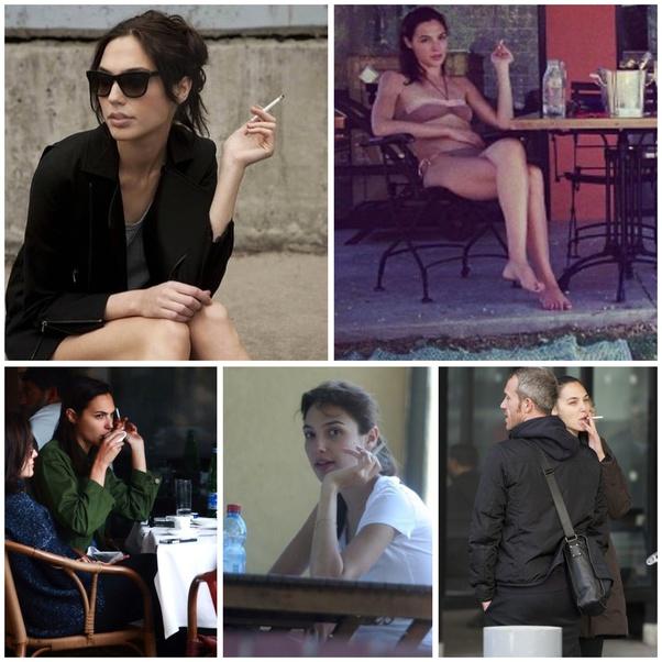 Gadot smoking