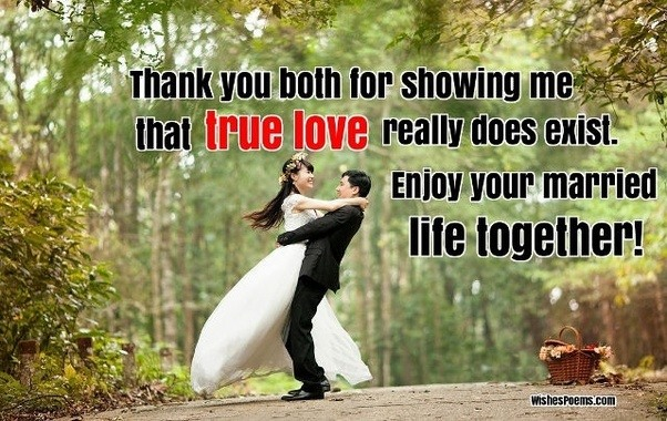 What is best message to send to wish happy wedding? quora