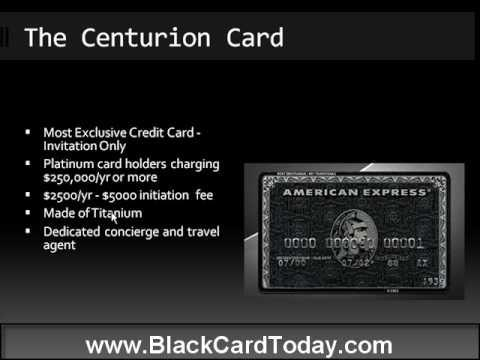 What does it feel like to own an American Express Black Card Quora