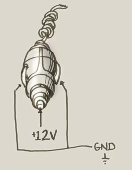 What Is The Positive And Negative Pole On A 12v Car Outlet