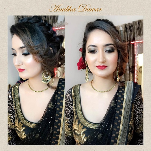 For latest bridal makeup trends by very talented Indian bridal makeup artist Anubha Dawar : Click here