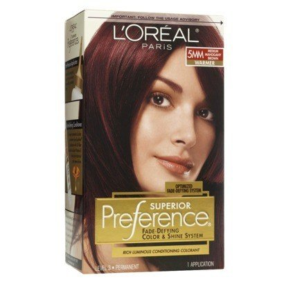 What are some good mahogany brown hair colors? - Quora
