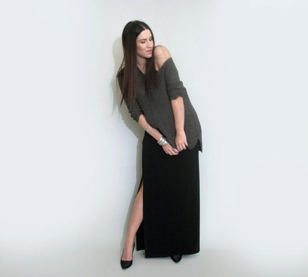 e3ba3cc3fe Since you didn't mention the length of the top(s) or your own age, height,  weight and body type, I'd suggest going for long maxi skirts in flowy  fabrics ...
