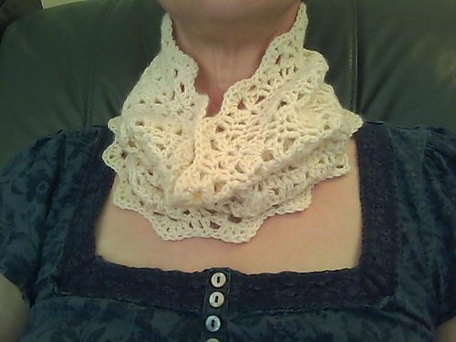 Can You Suggest A Pattern For A Crocheted Lace Infinity Scarf Quora