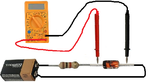 how to make a negative voltage in a lab