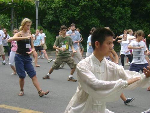 how to teach tai chi to children