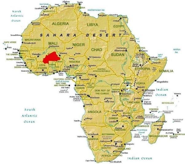 Where is Burkina located Quora