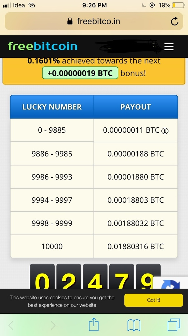 What Are The Websites That Offer Free Bitcoins And Actually Work -