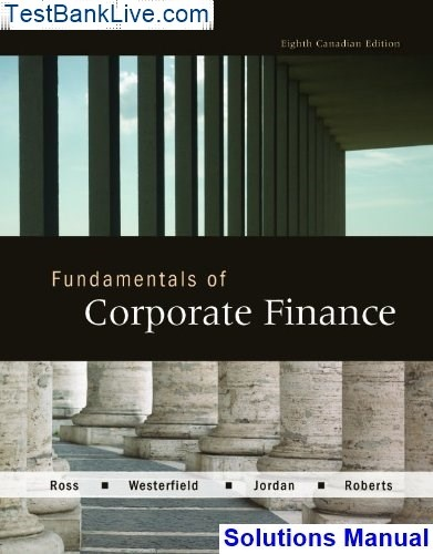 Fundamentals Of Corporate Finance 10th Edition Ebook